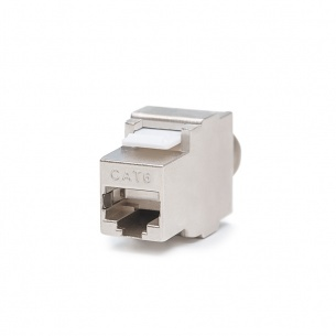 Keystone Jack, Category 6, RJ45/s